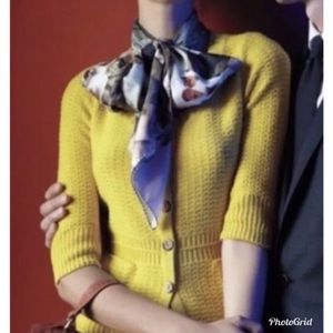 Sparrow for Anthropologie Yellow Cardigan